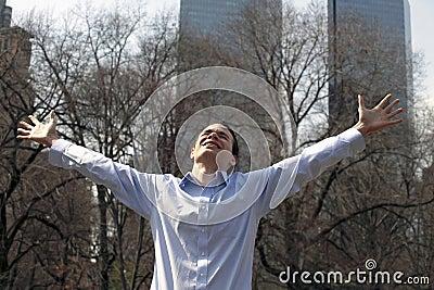 Man in praise