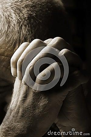 Free Man Praying Stock Photos - 16665133