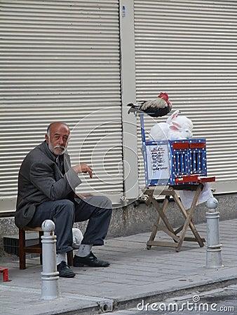 Free Man Predicting Future, Istanbul, Turkey Royalty Free Stock Photos - 108810948