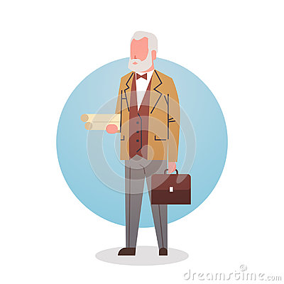 Free Man Professor Teacher Icon University Stuff Worker Professional Occupation Stock Images - 96982684