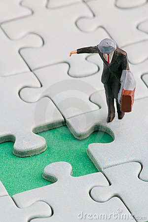 Man Puzzle 2 Stock Photography - Image: 10598272