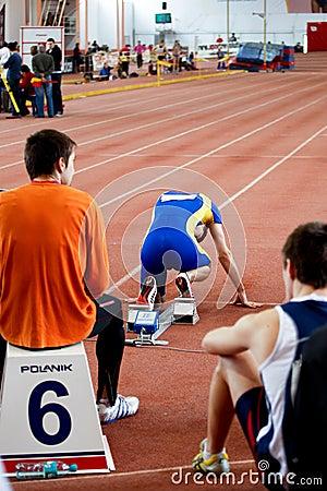 Man race Editorial Stock Photo
