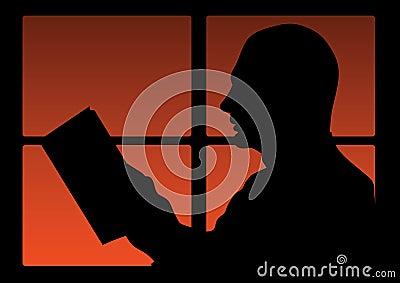 Man read