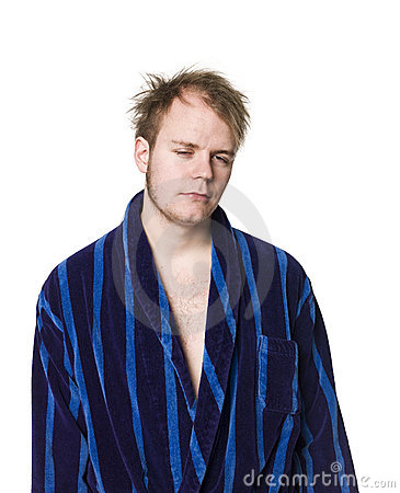 Man in a robe