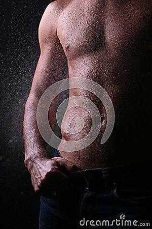 Free Man S Body Royalty Free Stock Photo - 10757905