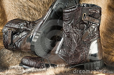 Man s boots.