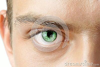 Man s eye