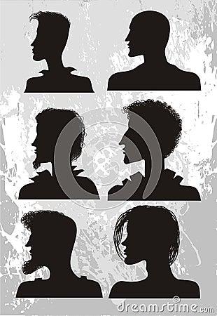 Man`s hair style