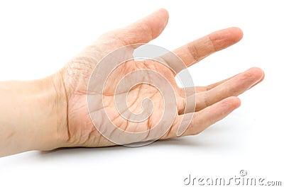 Man s hand