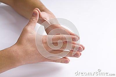 Man s hands