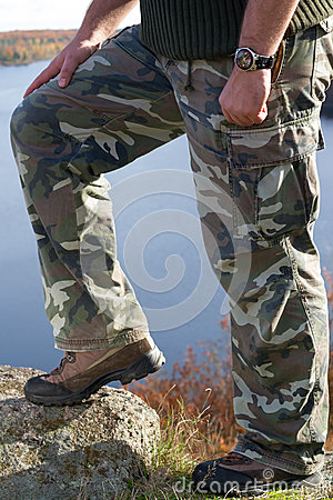 Man s hiking fashion
