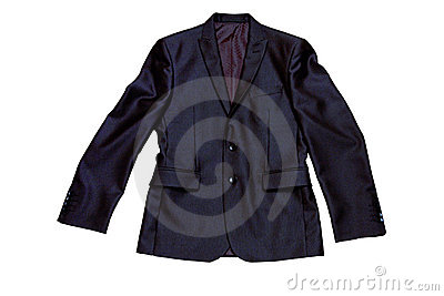 Man s jacket from a suit