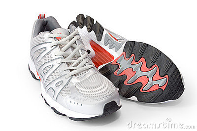 Man s jogging shoes
