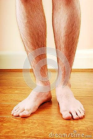 A man s legs