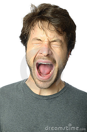 Man Screaming Stock Photos - Image: 19600053