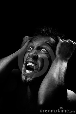 Free Man Screaming Stock Photos - 3575813
