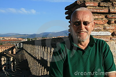 Man in Segovia