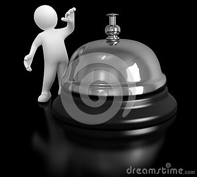 Man and Service bell
