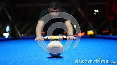 Man Setting Up Pool Balls Free Public Domain Cc0 Image