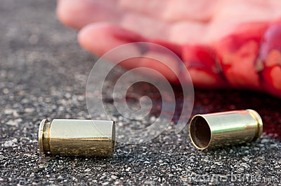 Man shot in street