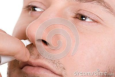 Man sick