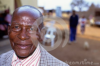 A man smiling in South Africa Editorial Image