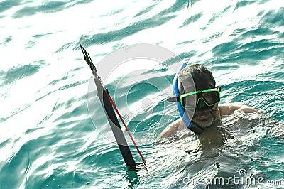 Man snorkeling2