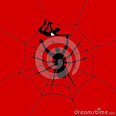 Man a spider