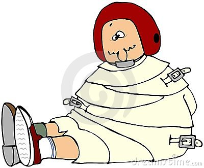 Man In A Straight Jacket