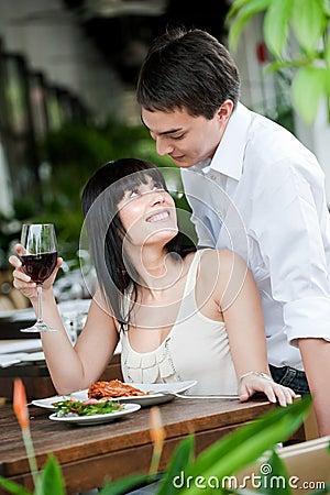 Man Surprises Partner