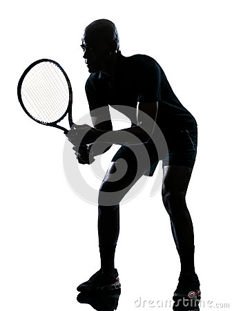 Man tennis player