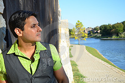 Man Thinking Royalty Free Stock Image - Image: 23351736