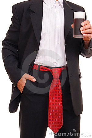 Man with ties