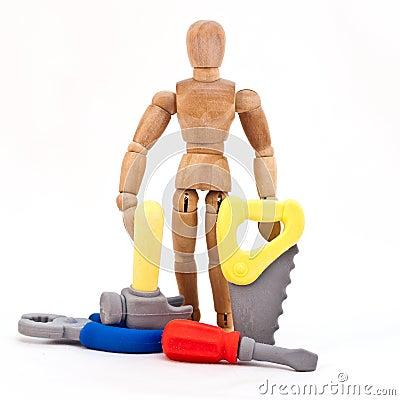 Man and Tools