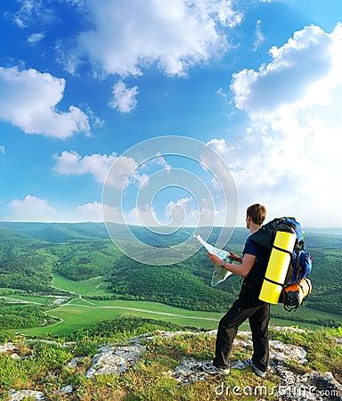 Free Man Tourist Stock Image - 14675541