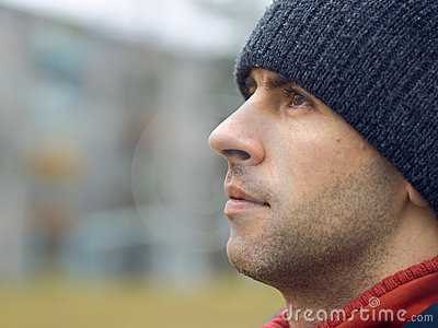 Man In Tuque