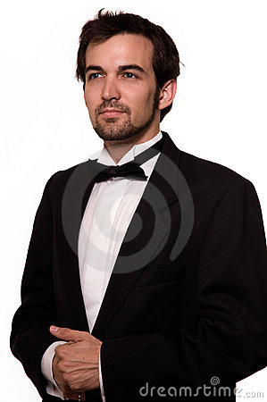 Man in tuxedo