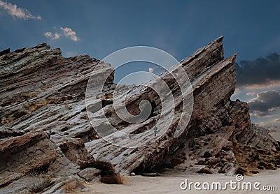 Man at Vasques Rocks