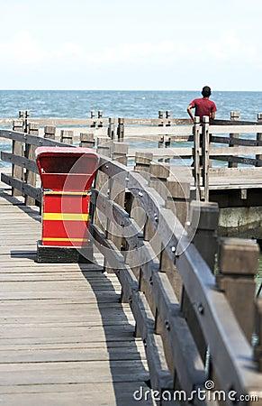 Free Man Waiting Stock Photos - 6707023