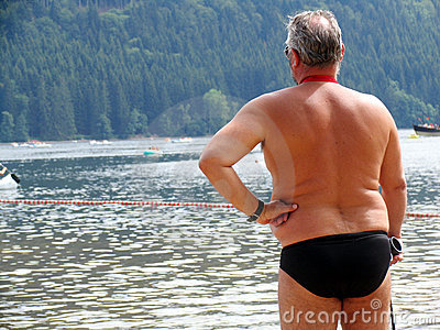 Man at the water