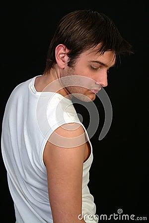 Man In White Vest #2