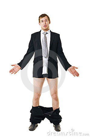 Free Man With His Pants Down Stock Photos - 22504593