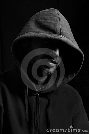 Free Man With Hood Royalty Free Stock Images - 13831009