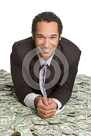 Free Man With Money Stock Photo - 3840520