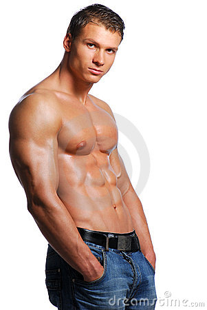 Free Man With Sexy Body Stock Photography - 3670992