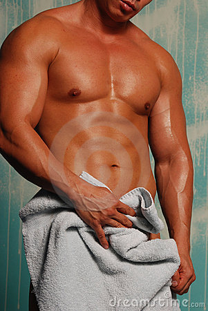 Free Man With Towel Stock Images - 6748634