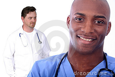 Man and Woman Medical Field