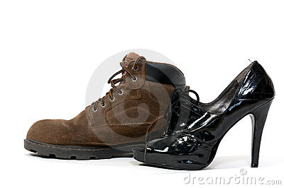 Man and Womans Shoes