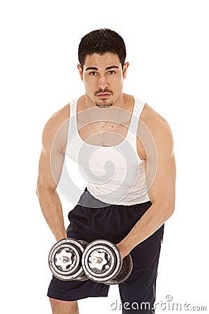 MAn workout flex