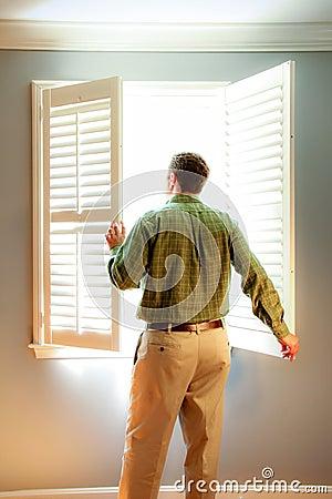 Man's Green Flannel Dress Shirt Free Public Domain Cc0 Image